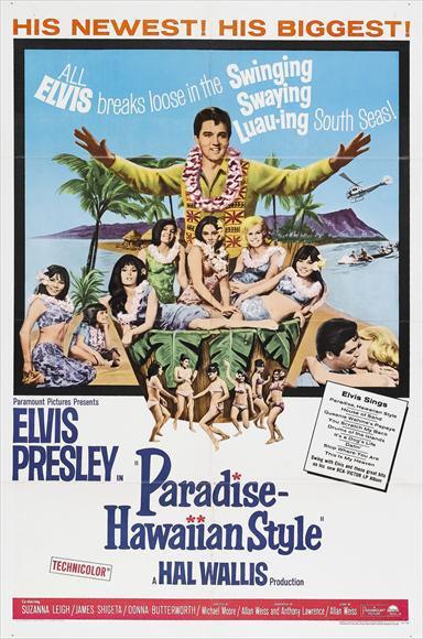 Paradise, Hawaiian Style (1966) - Elvis Presley  DVD