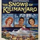 Snows Of Kilimanjaro (1952) - Gregory Peck  DVD