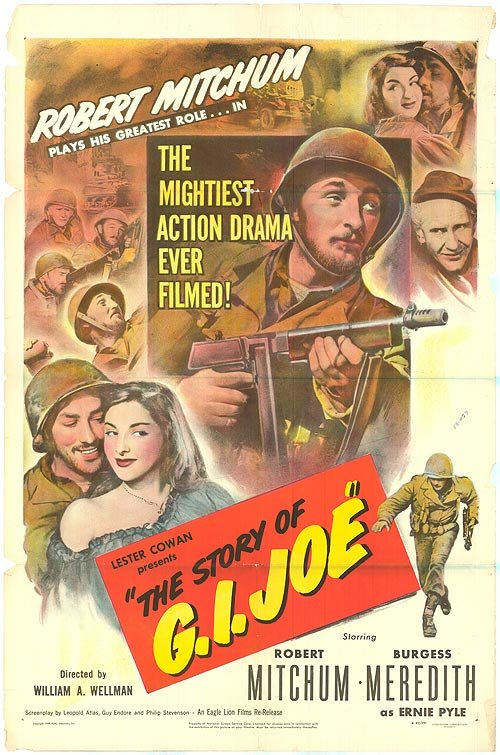 The Story Of G.I. Joe (1945) - Robert Mitchum  DVD