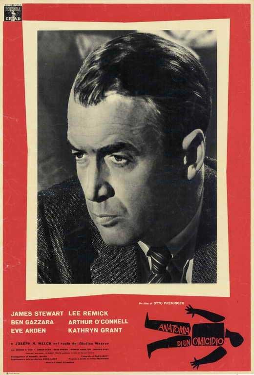 Anatomy Of A Murder (1959) - James Stewart  DVD