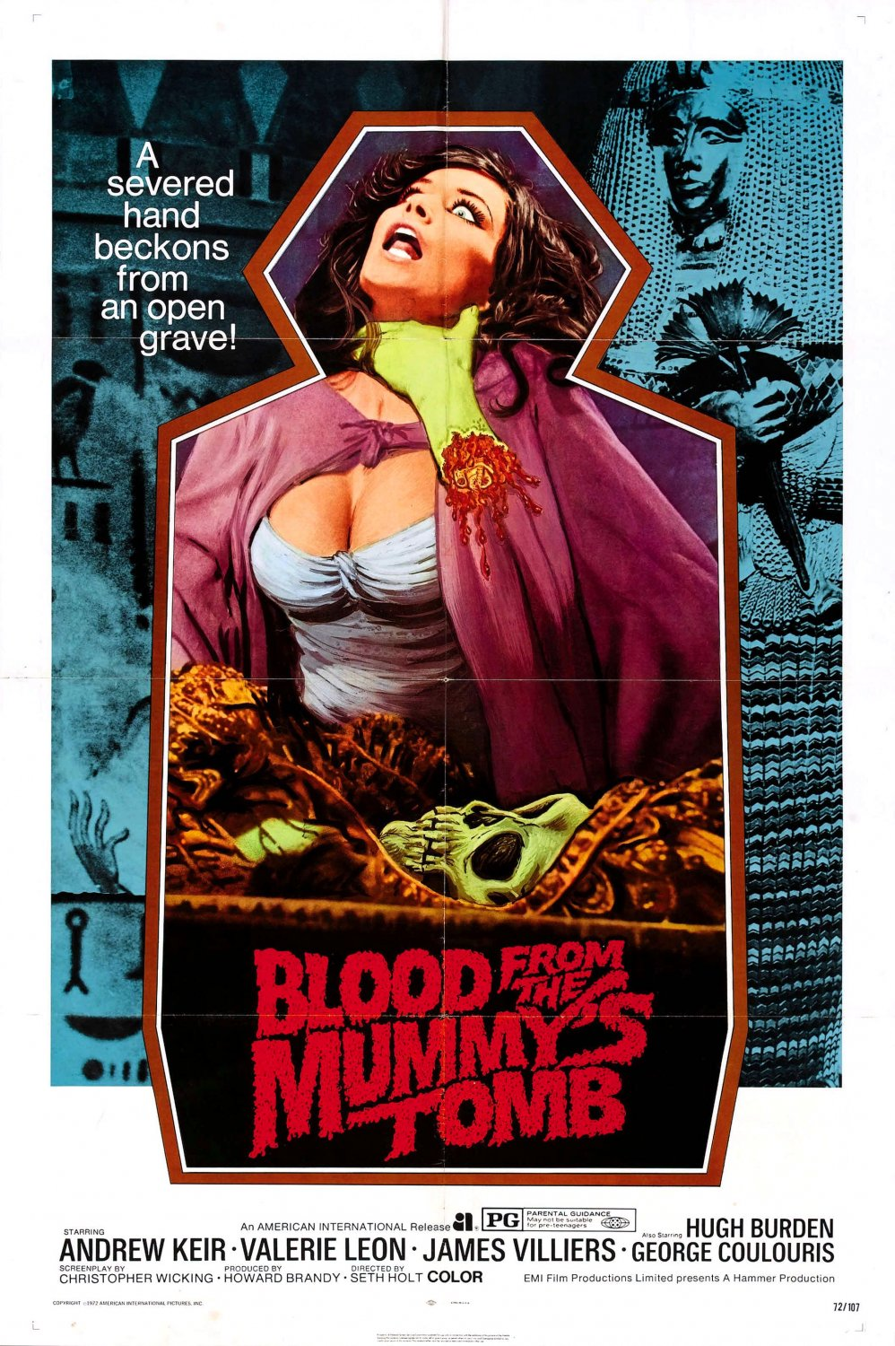 Blood From The Mummy's Tomb (1971) - Andrew Keir  DVD