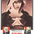 To The Devil A Daughter (1976) - Christopher Lee  DVD