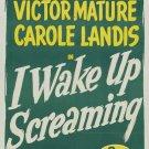 I Wake Up Screaming (1941) - Victor Mature  DVD