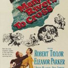Many Rivers To Cross (1955) - Robert Taylor  DVD