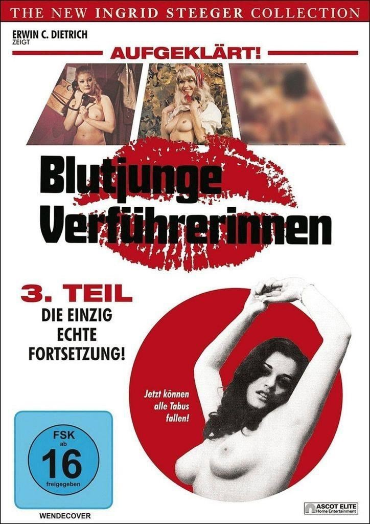 Young Seducers Part 3 AKA Blutjunge Verführerinnen 3 (1972) - Ingrid Steeger DVD