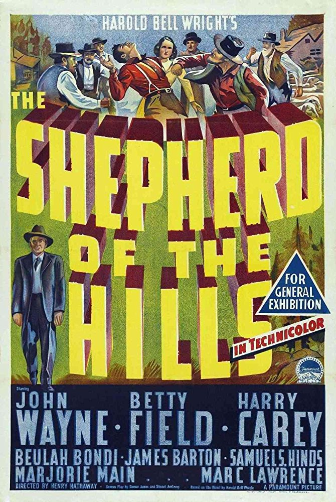 Shepherd Of The Hills (1941) - John Wayne  DVD