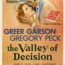 The Valley Of Decision (1945) - Gregory Peck  DVD