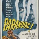Paranoiac (1963) - Vincent Price  DVD