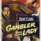 The Gambler And The Lady (1952) - Dane Clark  DVD