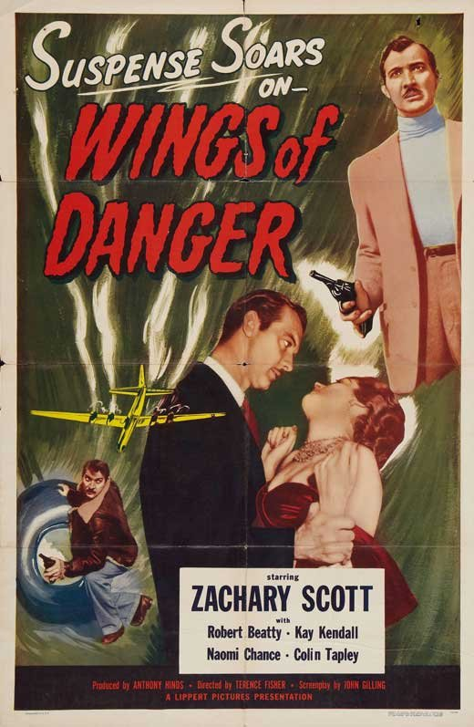 Wings Of Danger (1952) - Zachary Scott  DVD