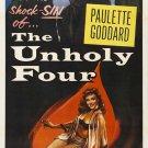 The Unholy Four AKA The Stranger Came Home (1954) - Paulette Goddard  DVD
