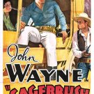 An Innocent Man AKA Sagebrush Trail (1933) - John Wayne  COLOR Version DVD
