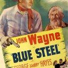Blue Steel (1934) - John Wayne COLOR Version DVD