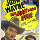 Man From Utah / Sagebrush Trail - John Wayne Double Feature DVD