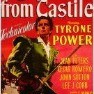 Captain From Castile (1947) - Tyrone Power  DVD