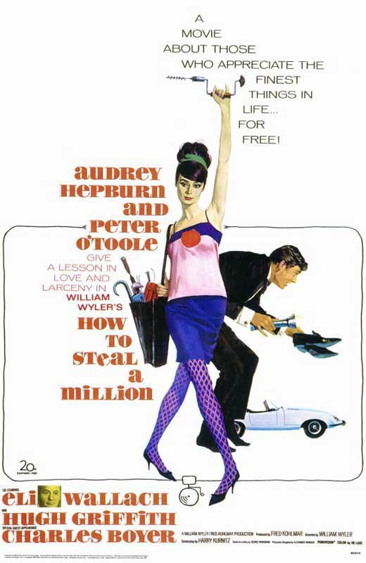 How To Steal A Million (1966) - Peter O´Toole  DVD