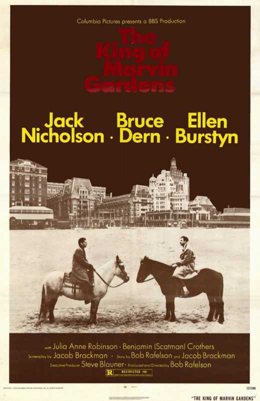The King Of Marvin Gardens (1972) - Jack Nicholson  DVD