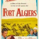 Fort Algiers (1953) - Raymond Burr   DVD