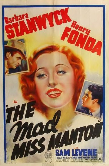 The Mad Miss Manton (1938) - Henry Fonda  DVD