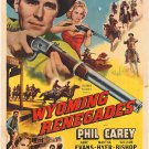 Wyoming Renegades (1954) - Philip Carey  DVD