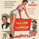 He Laughed Last (1956) - Frankie Laine  DVD