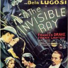 The Invisible Ray (1936) - Boris Karloff  DVD