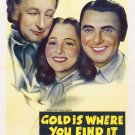 Gold Is Where You Find It (1938) - Claude Rains  DVD