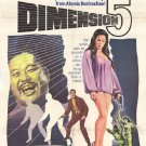 Dimension 5 (1966) - Jeffrey Hunter  DVD