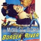 Border River (1954) - Joel McCrea  DVD