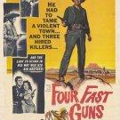 Four Fast Guns (1960) - James Craig  DVD