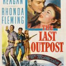 The Last Outpost (1951) - Ronald Reagan  DVD