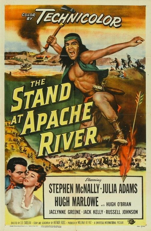 The Stand At Apache River (1953) - Stephen McNally  DVD