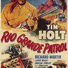 Rio Grande Patrol (1950) - Tim Holt  DVD
