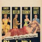 Black Widow (1954) - Van Heflin  DVD