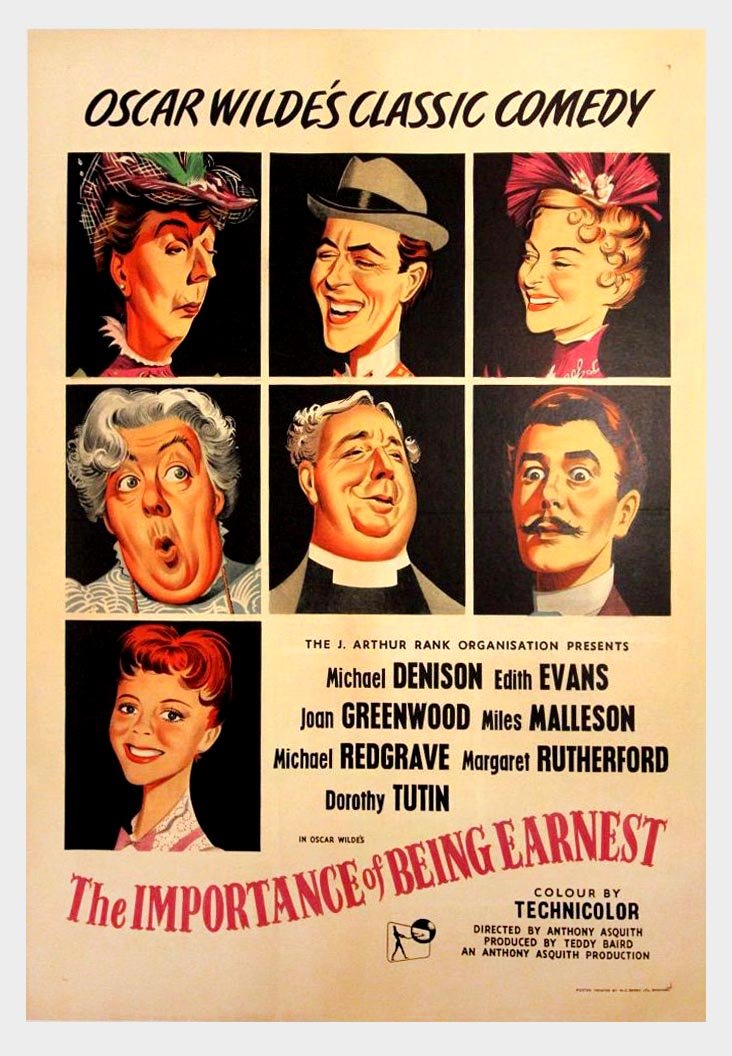 The Importance Of Being Earnest (1952) - Michael Redgrave  DVD