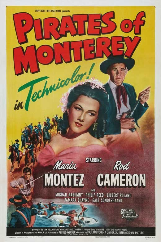 Pirates Of Monterey (1947) - Rod Cameron  DVD