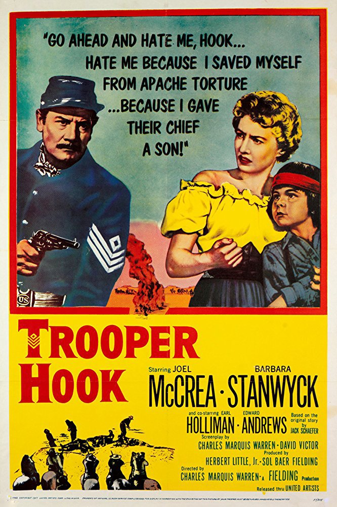 Trooper Hook (1957) - Joel McCrea  DVD