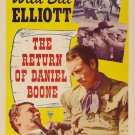 The Return Of Daniel Boone (1941) - Bill Elliott  DVD