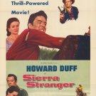 Sierra Stranger (1957) - Howard Duff  DVD