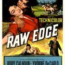 Raw Edge (1956) - Rory Calhoun  DVD