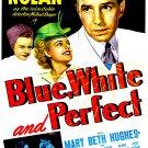 Blue, White And Perfect (1942) - Lloyd Nolan  DVD