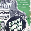 Down Dakota Way (1949) - Roy Rogers  DVD