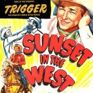 Sunset In The West (1950) - Roy Rogers  DVD