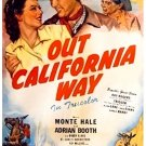 Out California Way (1946) - Monte Hale  DVD