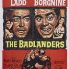 The Badlanders (1958) - Alan Ladd  DVD