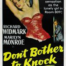 Don´t Bother To Knock (1952) - Richard Widmark  DVD
