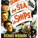 Down To The Sea In Ships (1949) - Richard Widmark  DVD