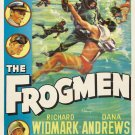 The Frogmen (1951) - Richard Widmark  DVD