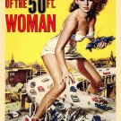 Attack Of The 50 Ft. Woman (1958) - Allison Hayes  DVD