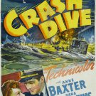 Crash Dive (1943) - Tyrone Power  DVD